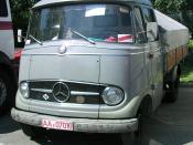 Deutsch: Wörth am Rhein beim Oldtimer-Treffen bei Daimler-Chrysler Mercedes-Benz L319 Bus mit Panoramaverglasung