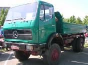 Deutsch: Wörth am Rhein, Oldtimer-Treffen bei Daimler-Chrysler Daimler Benz 1632 AK, Baujahr (12/)1973, 235 kW (320 PS)