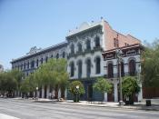 CHL# 159 Pico House (Hotel) {Left Side},CHL# 171 Merced Theatre and The Masonic Hall {Right Side}