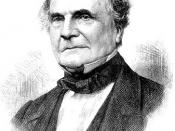 Charles Babbage Inventor of the difference engine,