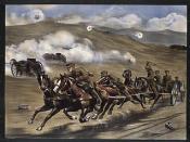 """First World War recruitment poster: """"Artillery Heroes..."""