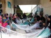 Netting a trade and an income in northern Lebanon