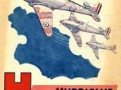 H is for Hurricane, British children's alphabet book from the Second World War