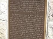 Dr. Gerhard Herzberg plaque Wikipedia:College Building (Saskatchewan)College Building U of S Saskatoon Sasktchewan Canada