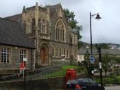 English: HQ of St David's Community Mental Health Team A former church, now converted and used by Rhondda Cynon Taf council