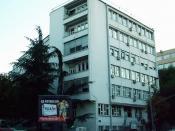 English: Institute of Mental Health building in Belgrade.