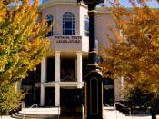 A view of the Nevada State Legislative Building in Carson City