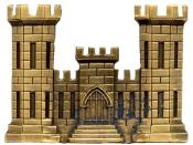 U.S. Army Corps of Engineer branch insignia The Gold Castle