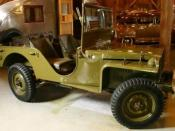 1941 American Bantam Jeep Prototype photographed by DougW of RemarkableCars.com at the Gilmore Car Museum in Hickory Corners, MI.