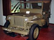 English: Willys MB jeep. Picture taken on trip to Virginia War Museum on March 14, 2006