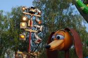 English: Pixar Play Parade In Disney Land 2009 .
