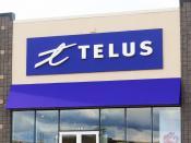 English: A Telus store in Moncton