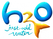 Title logo for the television series H 2 O: Just Add Water.