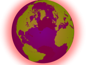 The global warming icon for the ubx.