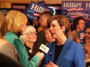 Falk talks about Wisconsin primary