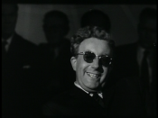 English: Peter Sellers as Dr. Strangelove from Stanley Kubrick's 1964 film, Dr. Strangelove.