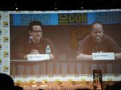 Comic-Con 2010 - EW Visionaries panel - Comic-Con 2010 - EW Visionaries panel - JJ Abrams & Joss Whedon