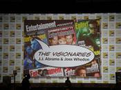 Comic-Con 2010 - EW Visionaries panel with JJ Abrams & Joss Whedon