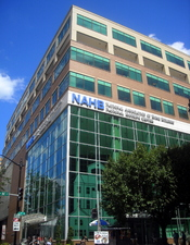 English: The National Housing Center, headquarters for the National Association of Home Builders, located at 1201 15th Street, N.W., in the Logan Circle neighborhood of Washington, D.C.
