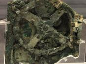 The Antikythera Mechanism was an analog computer from 150–100 BC designed to calculate the positions of astronomical objects.