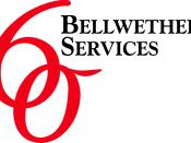 English: Bellwether Services is a strategic management consulting firm advising global clients on complex issues of strategy, operations, technology, and organization.