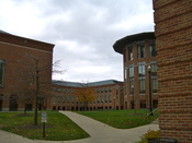 Fisher College of Business Courtyard