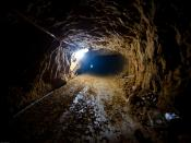 English: Smuggling Tunnel, Rafah, Gaza Strip