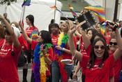 English: Bank of America at LA Pride 2011 (June 12)