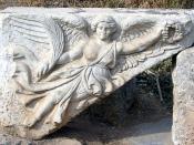 Relief depicting Nike at Ephesus