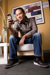 English: This is a picture of Tony Hsieh, CEO of Zappos.
