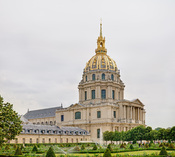 The Dome Church, known as Église du Dôme, at Les Invalides. This is a high resolution panoramic mosaic comprising 15 (3 x 5) segments taken with Canon 5D and 24-105mm f/4L IS.