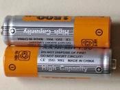 English: Rechargeable batteries Português: Pilhas recarregáveis