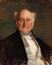 Richard Bethell, 1st Baron Westbury, by Michele Gordigiani (died 1909). See source website for additional information. This set of images was gathered by User:Dcoetzee from the National Portrait Gallery, London website using a special tool. All images in