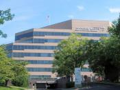 English: Main entrance to Lockheed Martin Center for Leadership Excellence (CLE) in Bethesda.
