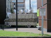 Bus Memorial to Ken Saro-Wiwa