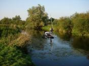 Punting down the Cam - geograph.org.uk - 551122