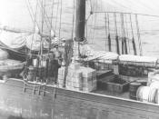 Rum runner sloop