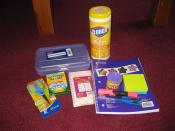 Assorted School Supplies from Clorox event