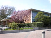 Varian Medical Systems headquarters in Palo Alto, California.