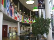 Interior of Owen Graduate School of Management