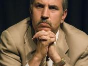 Thomas Friedman, American journalist, columnist, author and three-time winner of the Pulitzer Prize, currently working as an op-ed contributor for The New York Times.