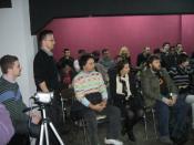 Presentation by Free Software Macedonia. Photo by: Bojan Anastasov.