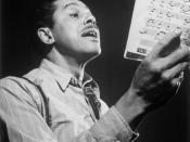 English: Portrait of Cab Calloway, Columbia studio, New York, N.Y., ca. Mar. 1947