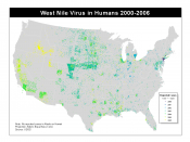 West Nile Virus Cases in the United States