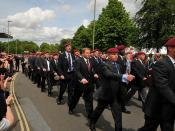 PARA Falklands 30 Mililtary Parade Aldershot 17th June 2012 THP_4614