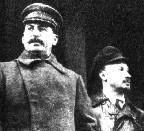 Stalin and Bukharin, c.1928