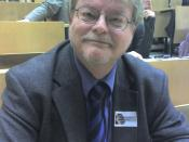 Dietmar Mieth, professor of catholic theology, leading professor for ethics in the natural sciences, from Tübingen.