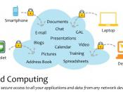 English: Cloud Computing visual diagram