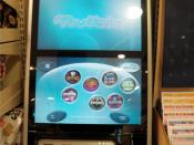 English: The new type of Norwegian slot machines, made to decrease gambling addiction. It does not take cash, and gives you a check instead of coins when you win.