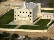 Temple of the FLDS in El Dorado, Texas